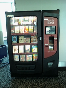 Maquina de venta de libros