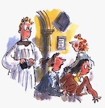 El vicario que hablaba al revés