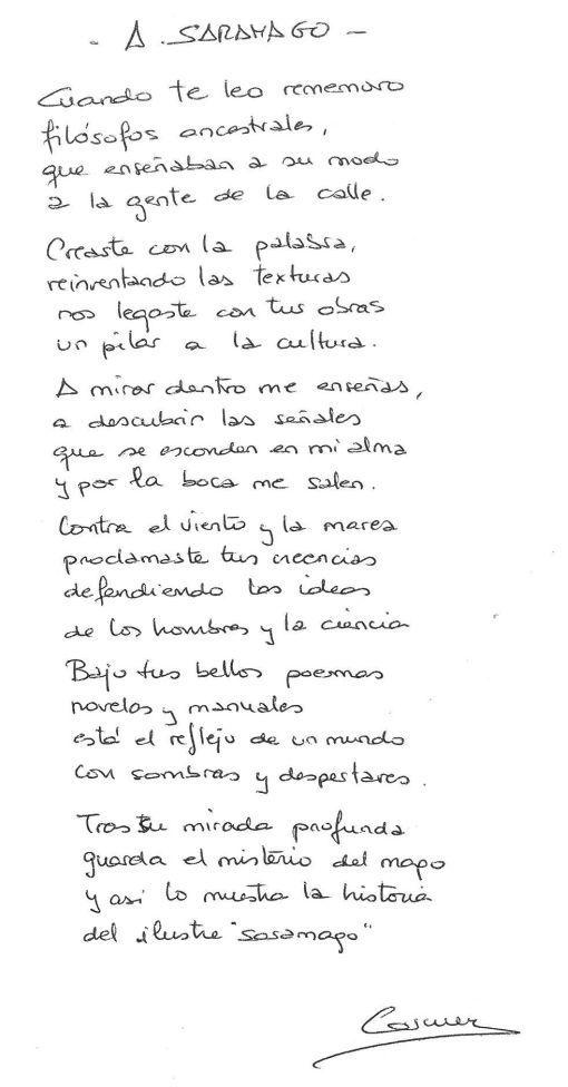 A Saramago