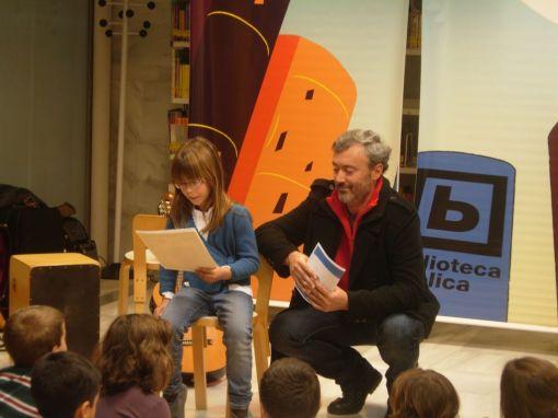 Ganadora de la categoría 7 a 10 años VIII Concurso Literario Infantil