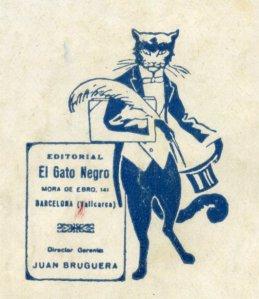 editorial gato negro