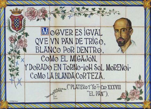 Ruta literaria el Moguer de Juan Ramón