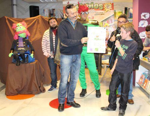 Rafael Malmagro Címbora (Ganador categoría 11 a 14 años)