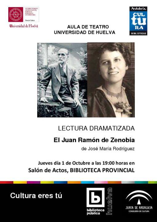 Lectura dramatizada El Juan Ramón de Zenobia