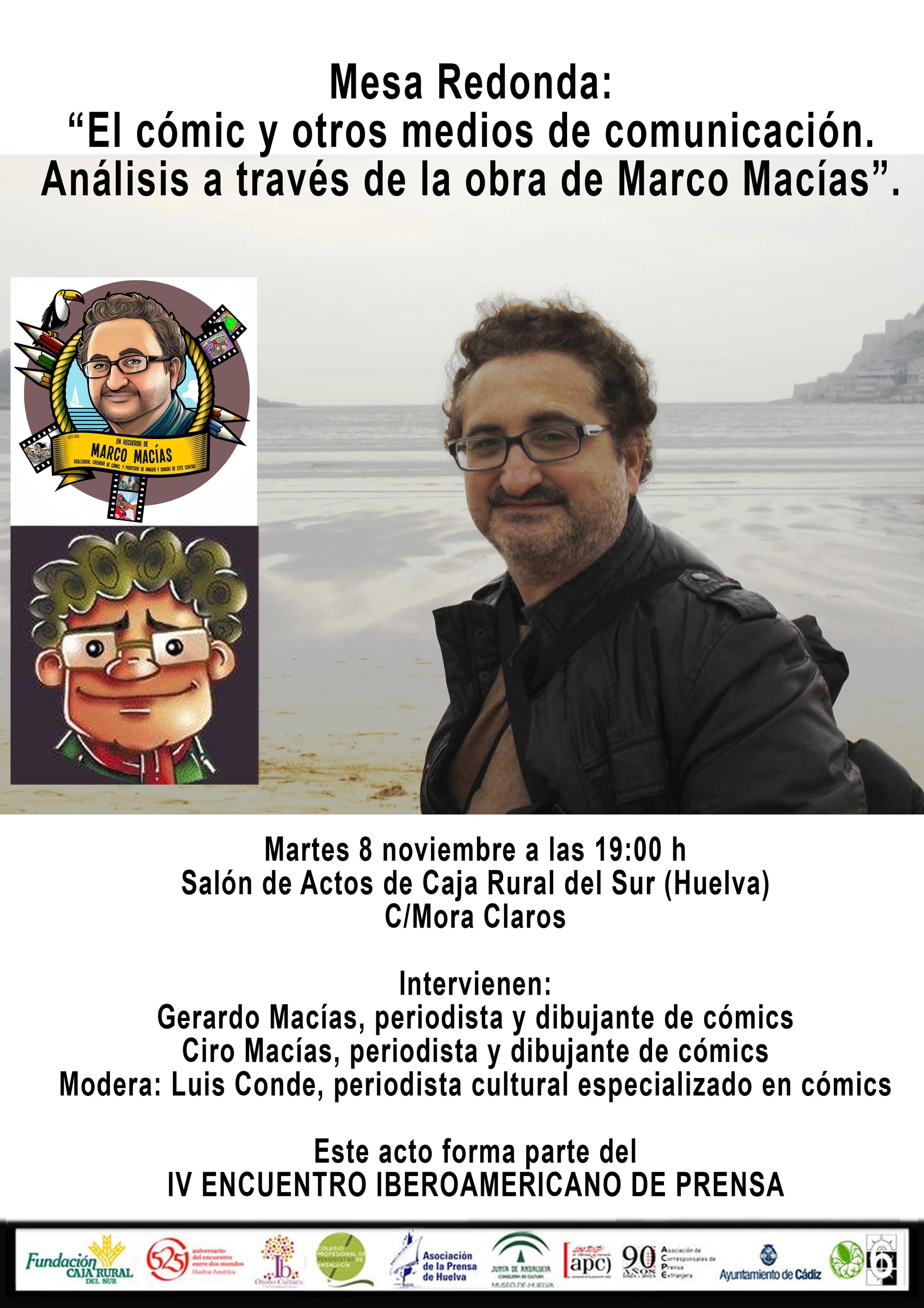 El 8 de noviembre en Caja Rural del Sur (Huelva), mesa redonda en ...