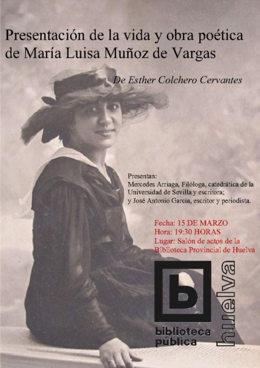 Cartel Esther Colchero Cervantes